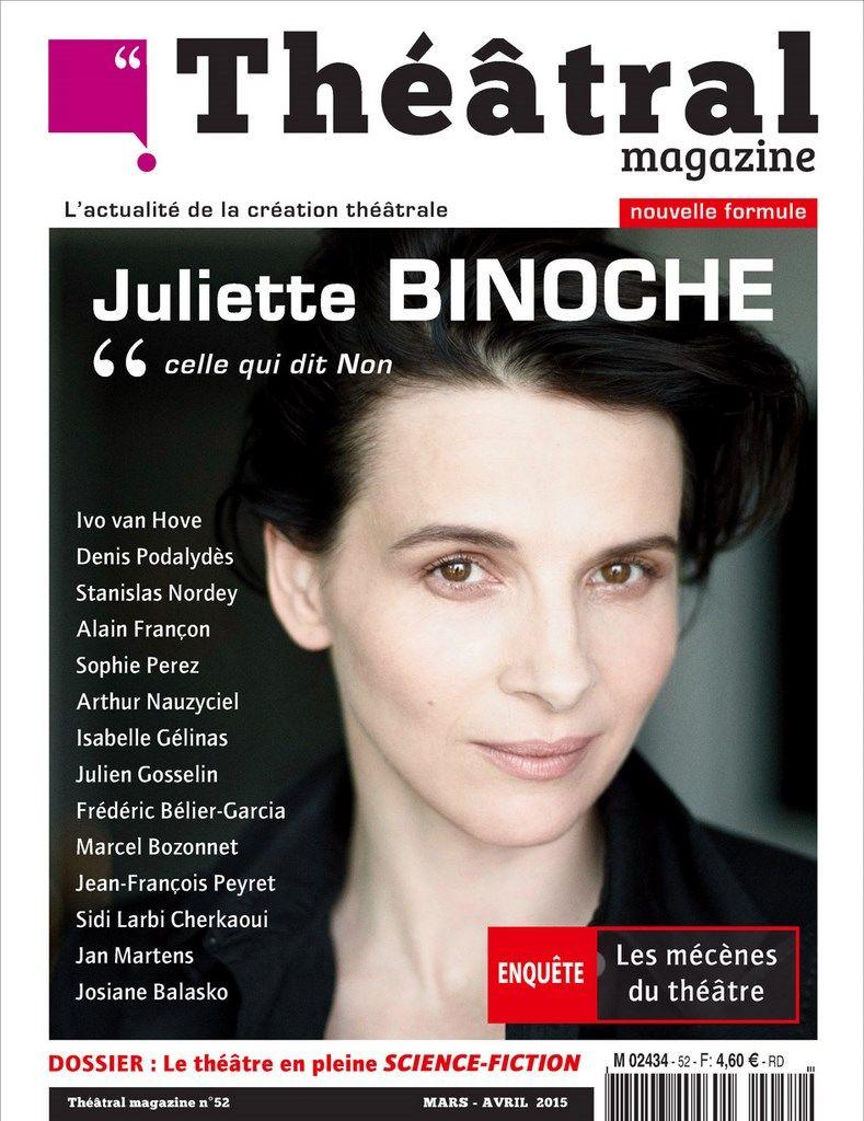 Théâtral magazine 52 - Mars 2015